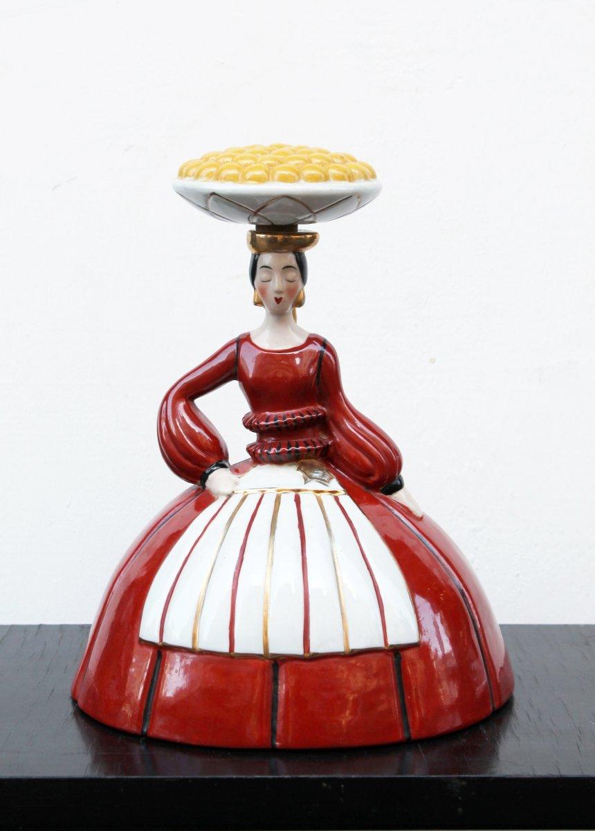 The Merchant Of Orange, Porcelain Robj, Paris