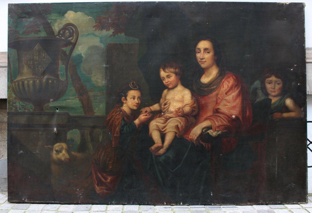 Portrait De Famille d'Après Jean Erasme Quellin