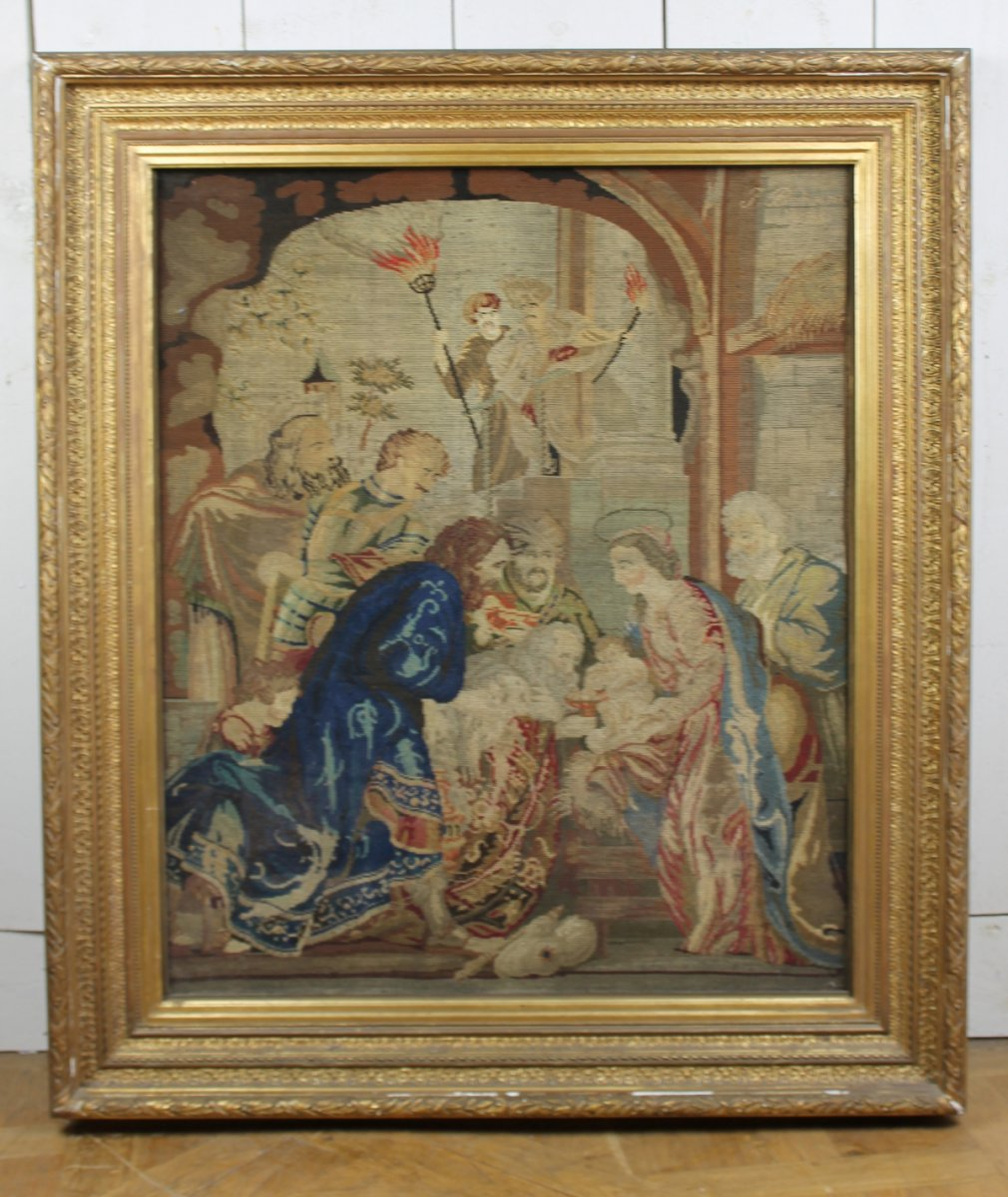 Framed Tapestry, 18th
