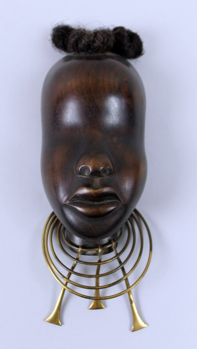 Sculpture Africaniste Par Franz Hagenauer