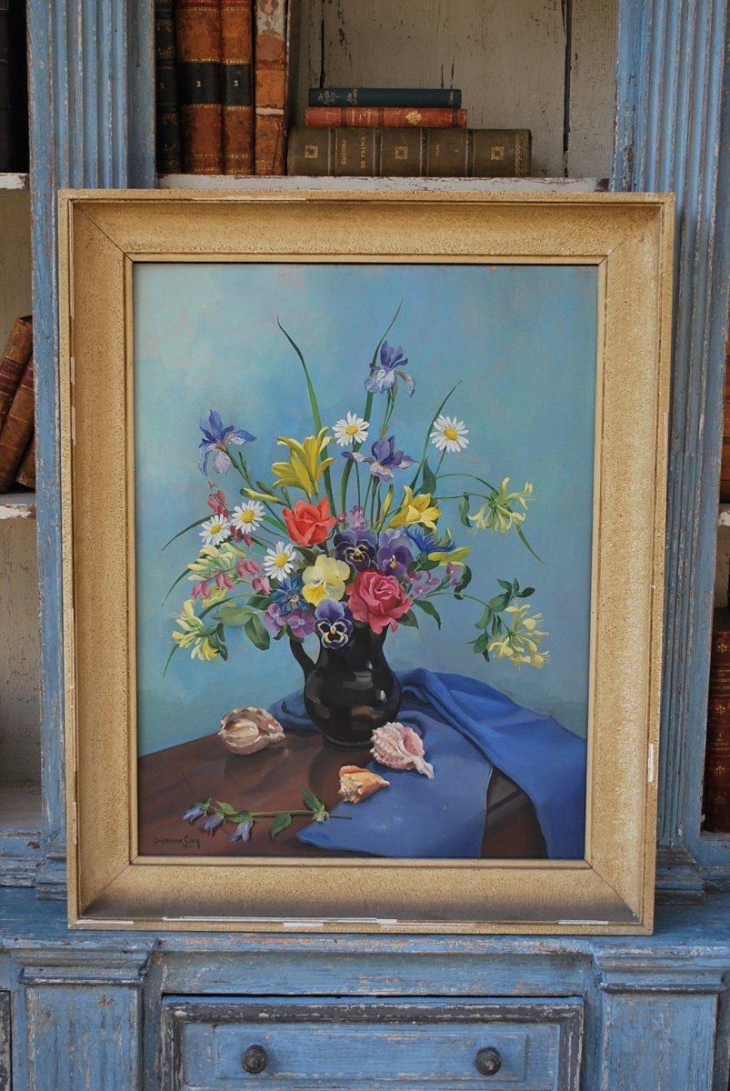 Suzanne Cocq, Oil On Canvas