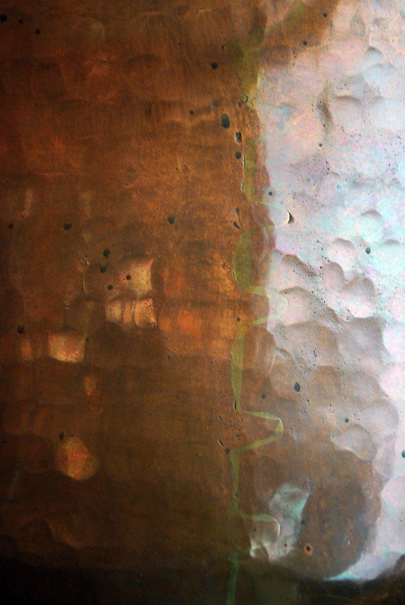 Cuve Baptismale Orthodoxe En Cuivre-photo-2