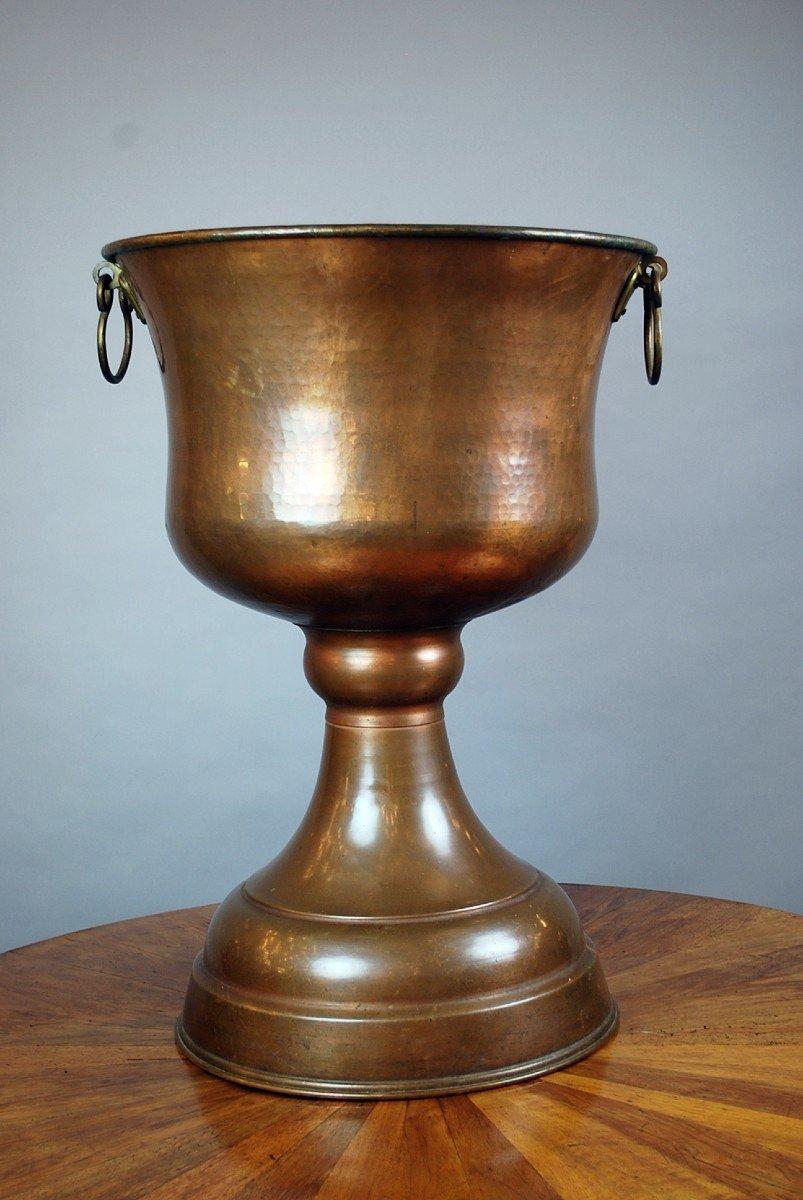 Cuve Baptismale Orthodoxe En Cuivre-photo-3