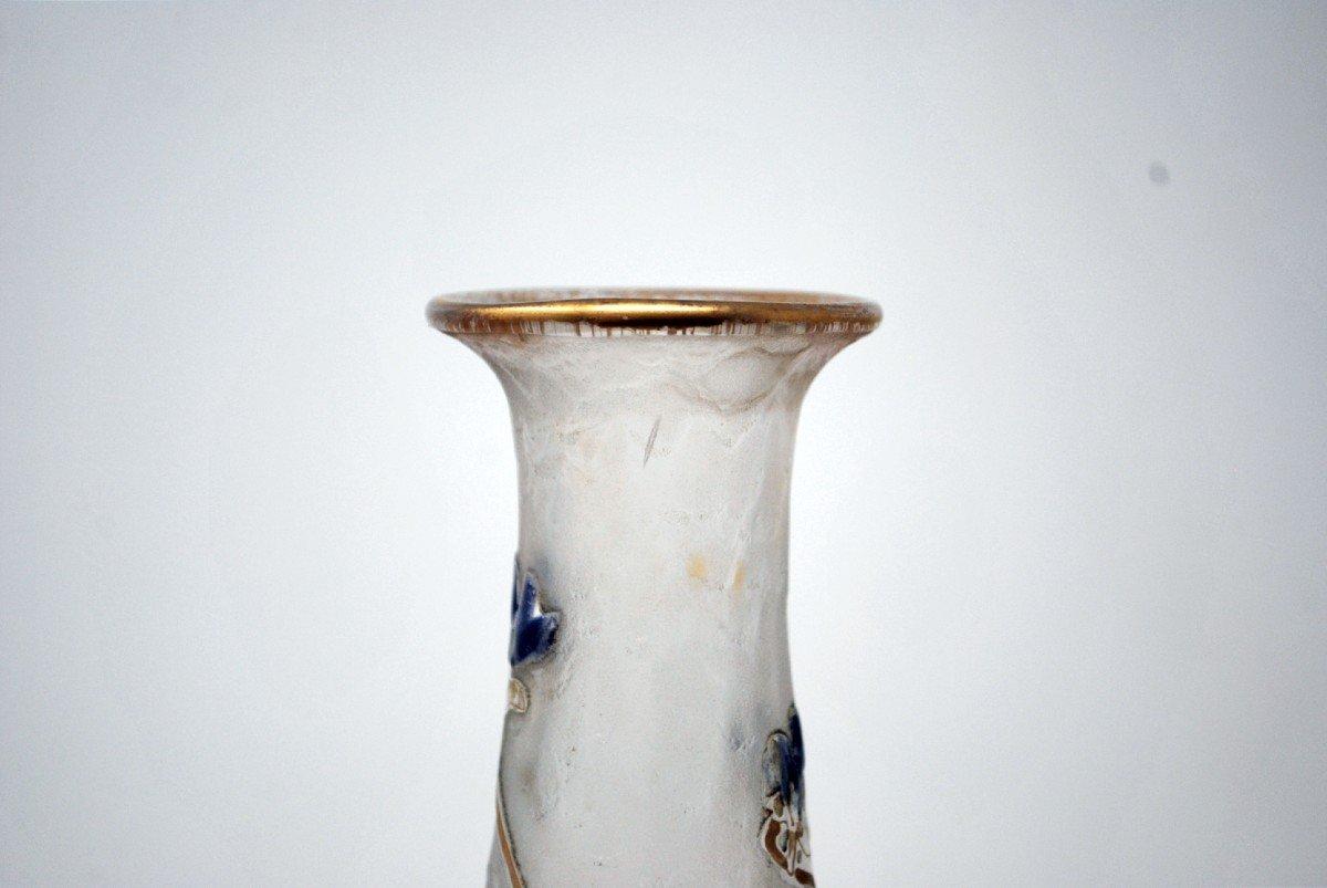 Vase Aux Violettes, Legras Cie et Montjoye-photo-1