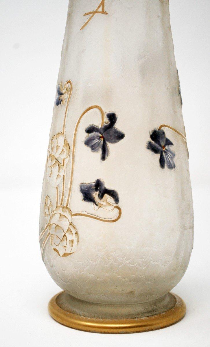 Vase Aux Violettes, Legras Cie et Montjoye-photo-5