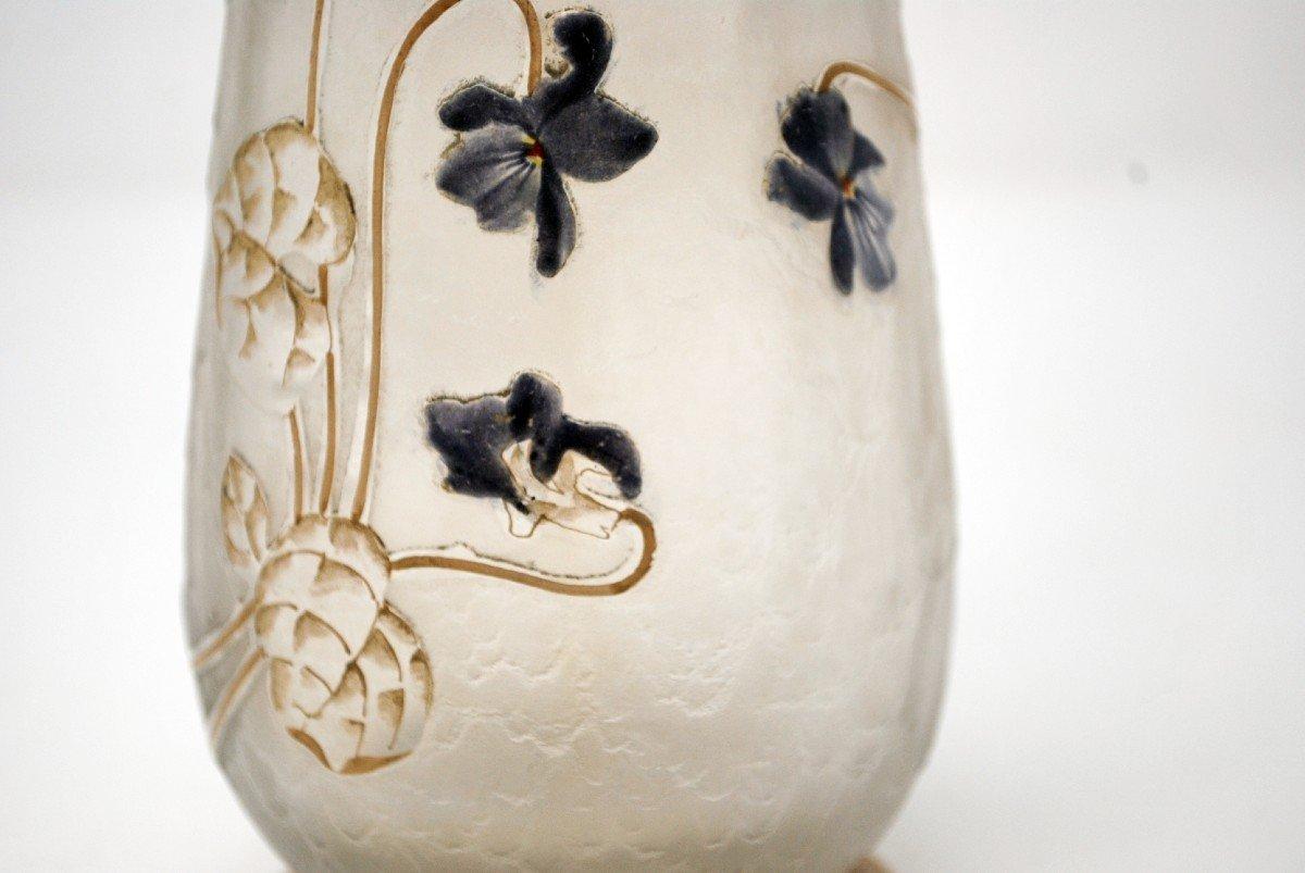 Vase Aux Violettes, Legras Cie et Montjoye-photo-6