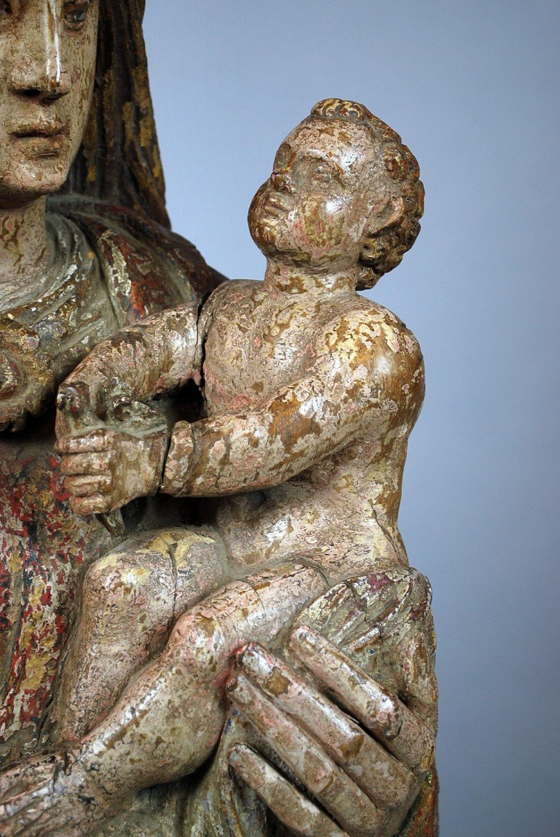 Virgin And Child, XVIth-photo-1