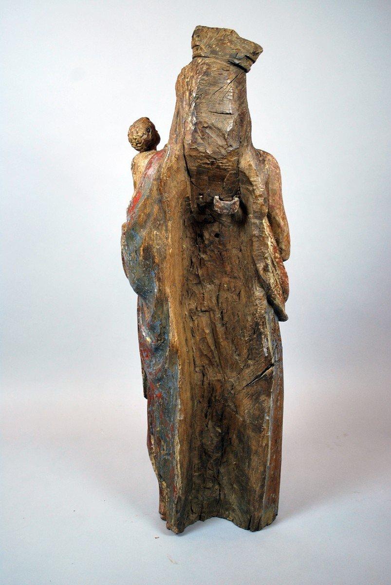 Virgin And Child, XVIth-photo-3
