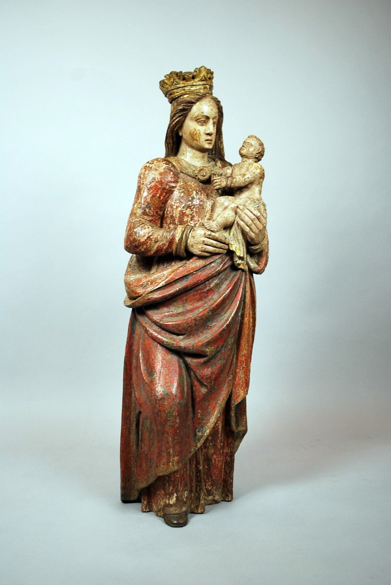 Virgin And Child, XVIth