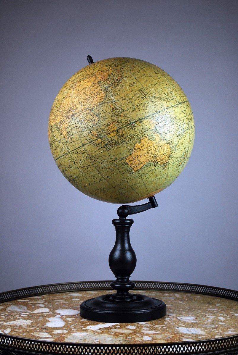 Globe Terrestre, G. Thomas à Paris-photo-2