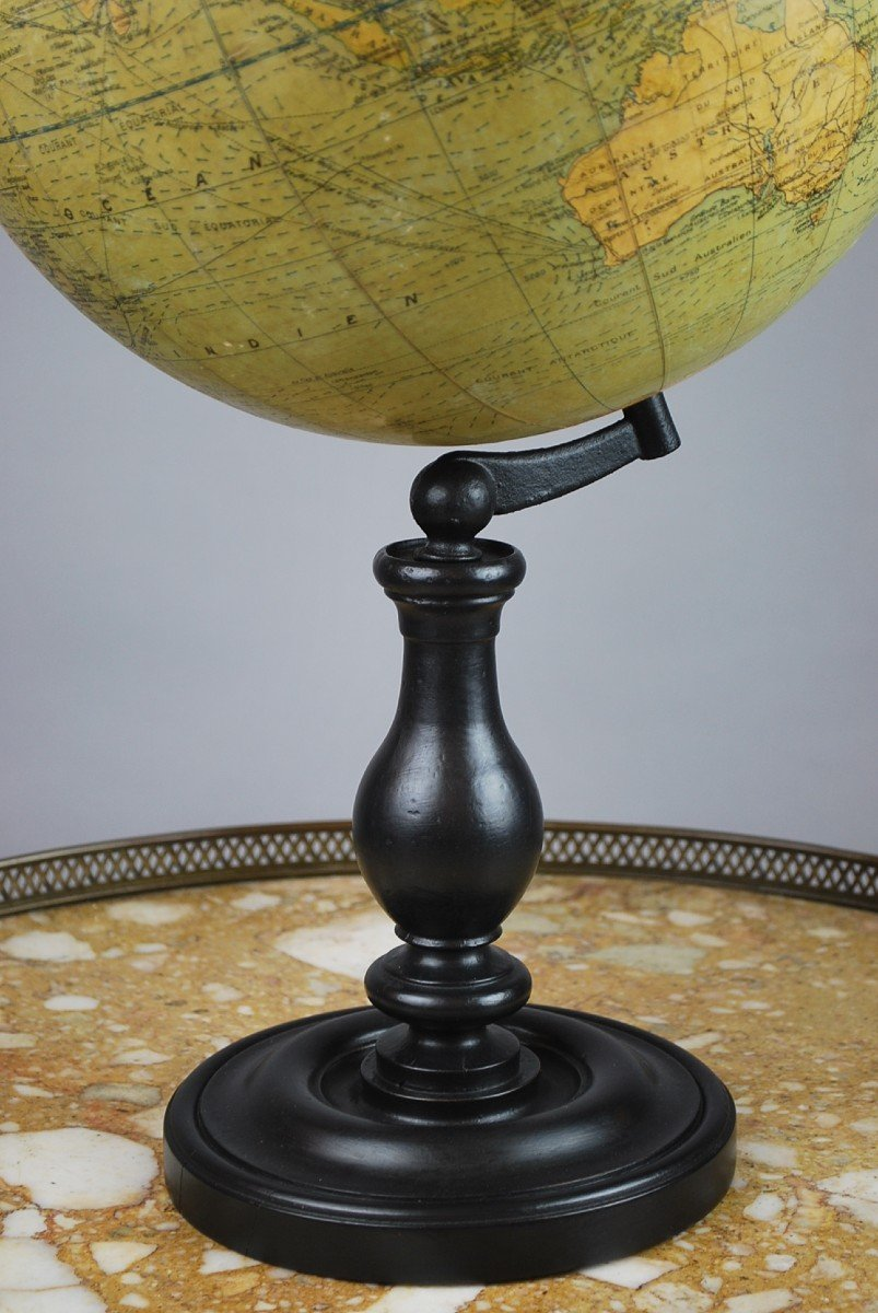 Globe Terrestre, G. Thomas à Paris-photo-3