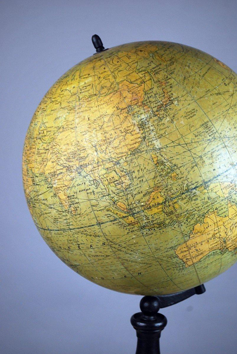 Globe Terrestre, G. Thomas à Paris-photo-4