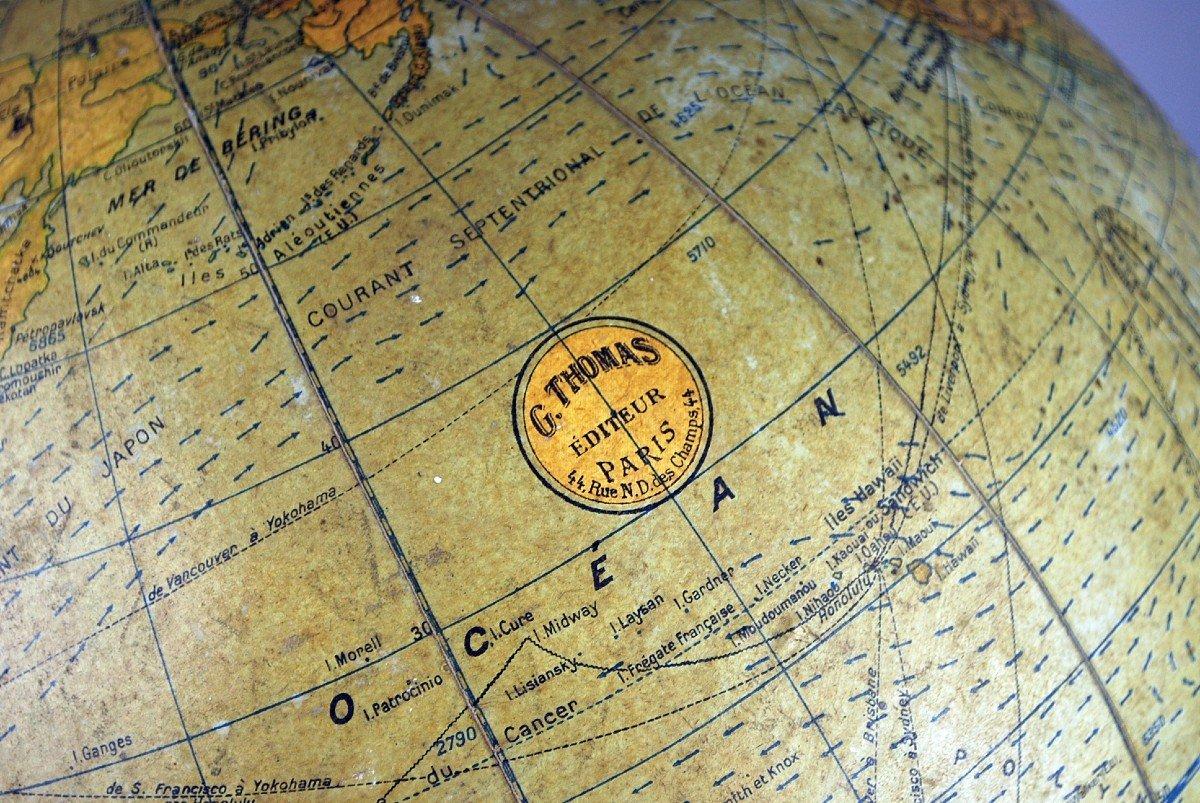 Globe Terrestre, G. Thomas à Paris-photo-1