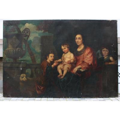 Family Portrait After Jean Erasmus Quellin