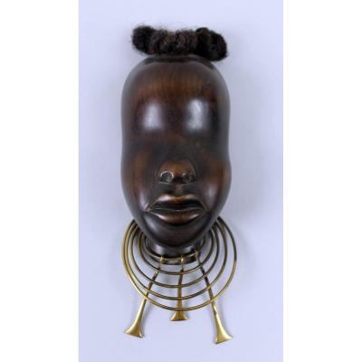 Africanist Sculpture By Franz Hagenauer