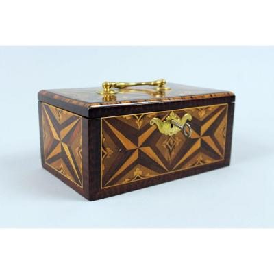 Inlaid Tea Box, XVIIIth