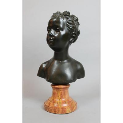 Bronze De Louise Brongniart d'Après Houdon