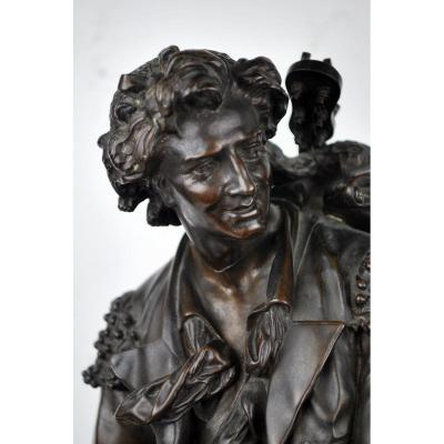 Emile Boisseau, Bronze With Brown Patina