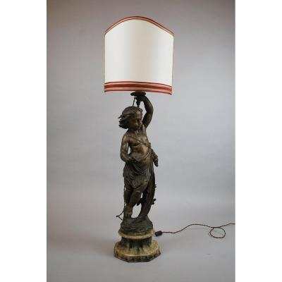Babbitt Metal Lamp