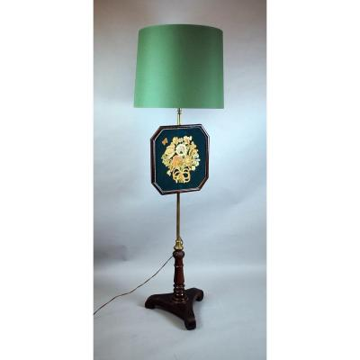 Lamp With Embroidered Firewall, Napoleon III