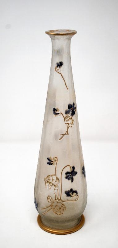 Vase Aux Violettes, Legras Cie et Montjoye-photo-2