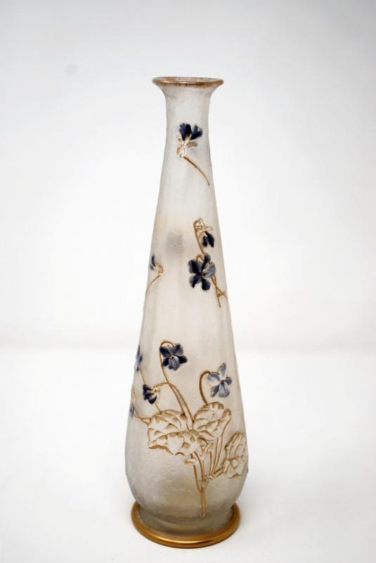 Vase Aux Violettes, Legras Cie et Montjoye-photo-3