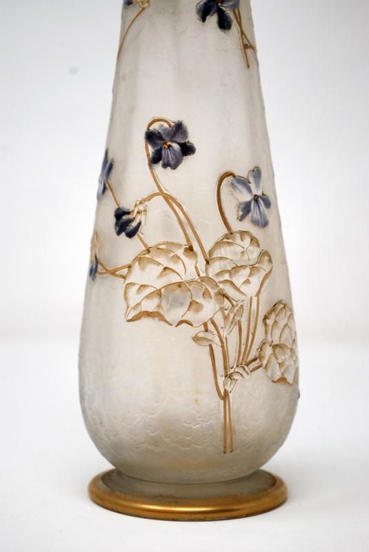 Vase Aux Violettes, Legras Cie et Montjoye-photo-4