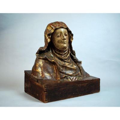 Buste De La Vierge, Début XVIIème