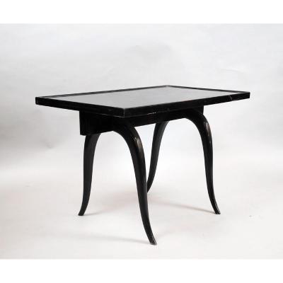 Table Basse En Bois Laqué, 1940's