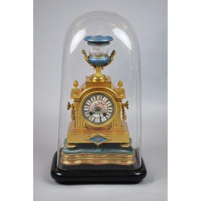 Pendule Napoléon III Sous Globe