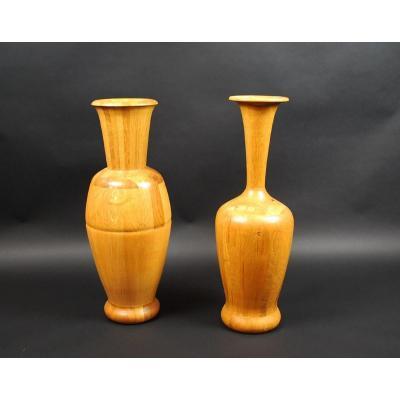 Paire de Vases De Coene