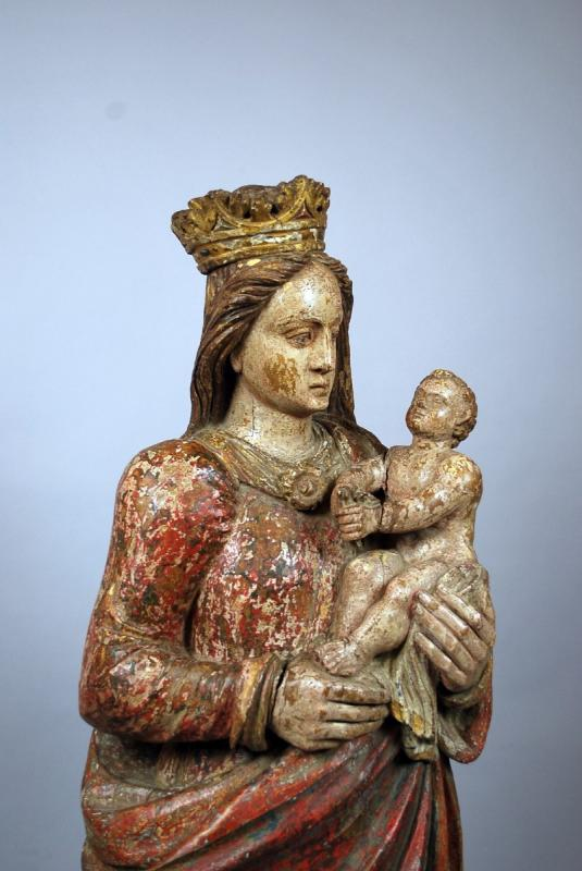 Virgin And Child, XVIth-photo-2