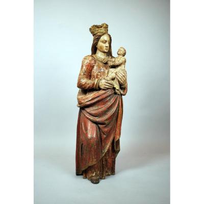 Vierge à l'Enfant, XVIème