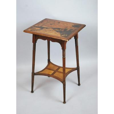Pedestal Table In The Taste Of Galle