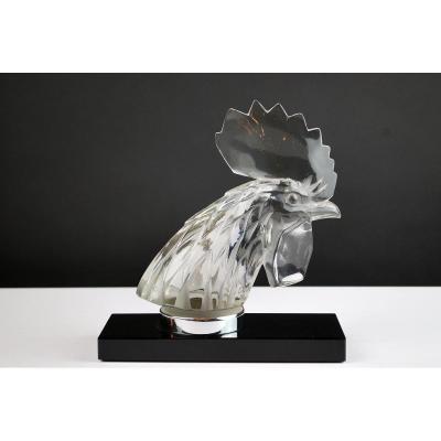 Lalique France, Mascotte De Voiture En Verre