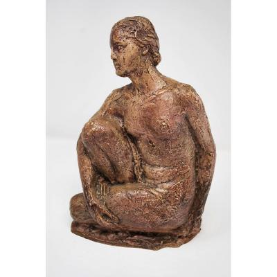 Nude - Terracotta - Alfred Stevens