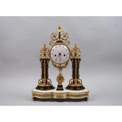 Louis XVI Style Portico Clock