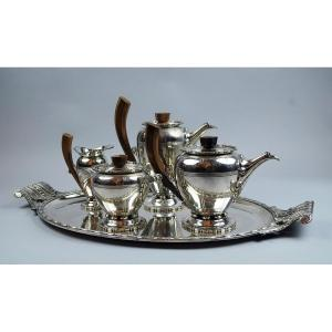 Tea Service By Durousseau And Raynaud