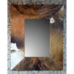 Mirror Cowhide Frame