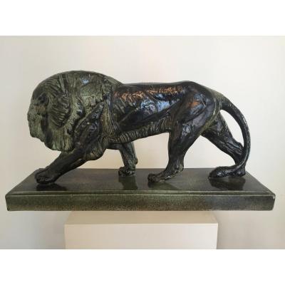 Lion de Jeanne Piffard