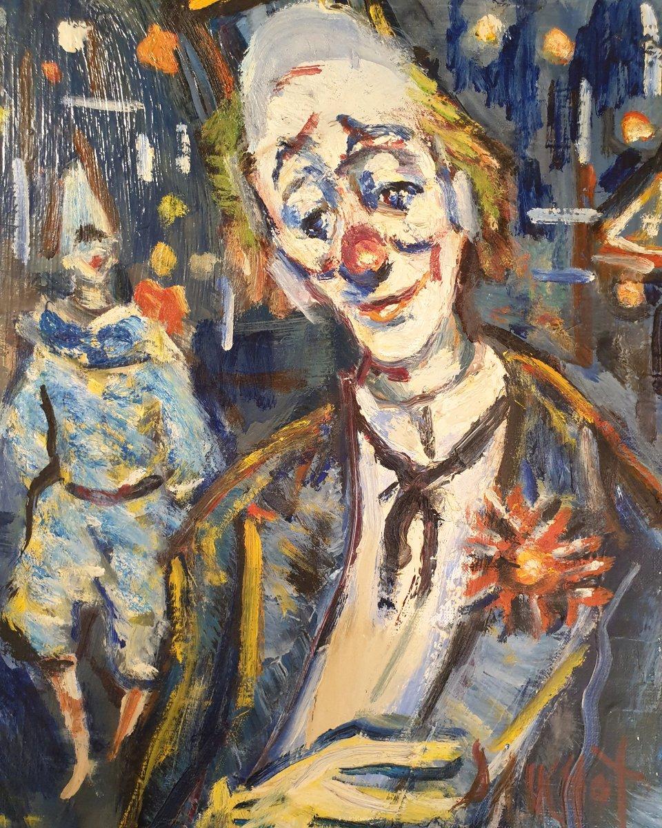 Hst Dauchot - Clown Blanc
