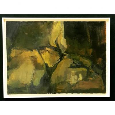 Huile Sur Toile Pierre Montheillet (1923 / 2011)
