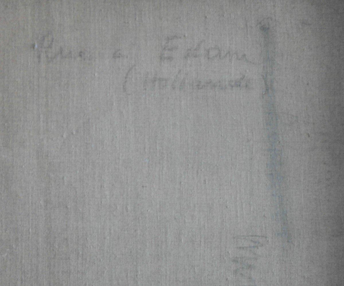 Tableau  R. Chapelain- Midy.   Huile Sur Toile.    -photo-4