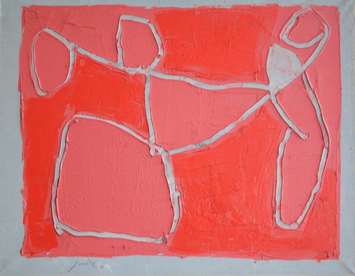 Tableau Georges Ferrato - Huile Sur Toile- V1339--photo-3