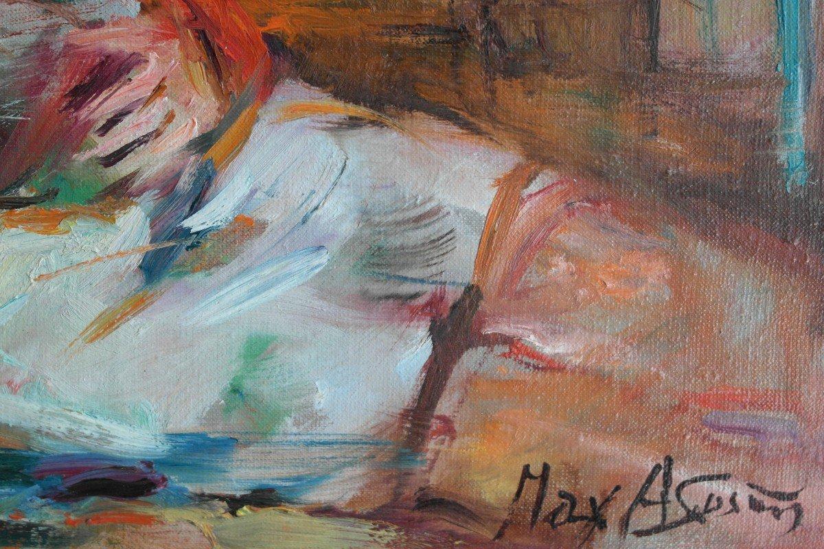 Max Agostini. Huile Sur Toile.v1402.-photo-2