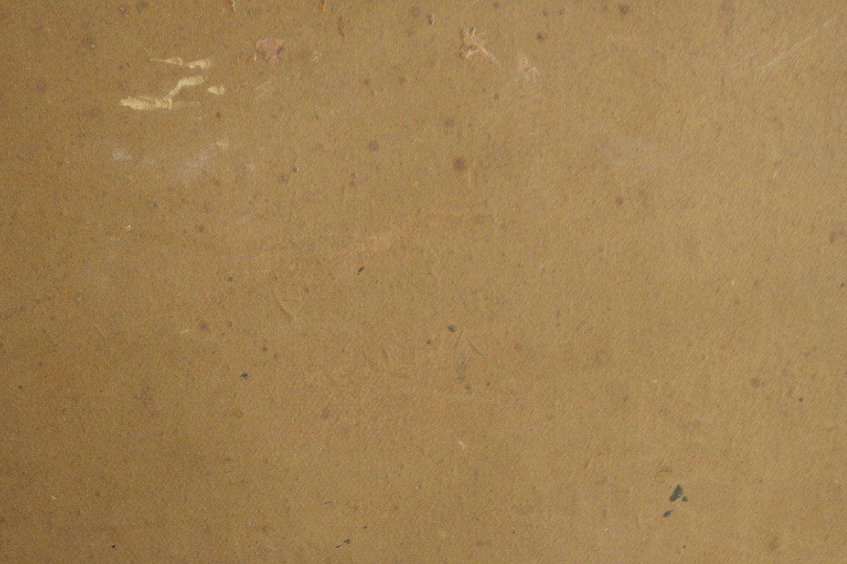 Tableau De Charles Vionnet. Huile Sur Carton.sbd.v1433.-photo-3