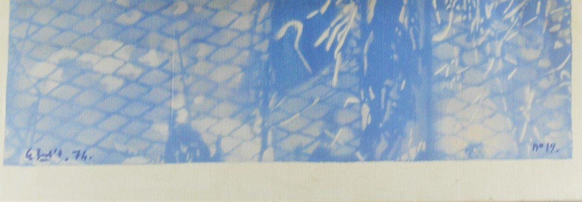Table De Le Boul'ch. Acrylic On Canvas. Sbg. V1438.-photo-1