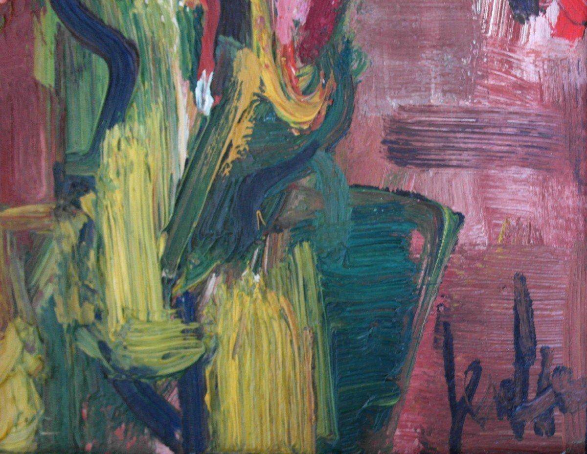 Painting Eugene Paul Dit Gen Paul (1895-1975) Sbd Hp V1467-photo-2