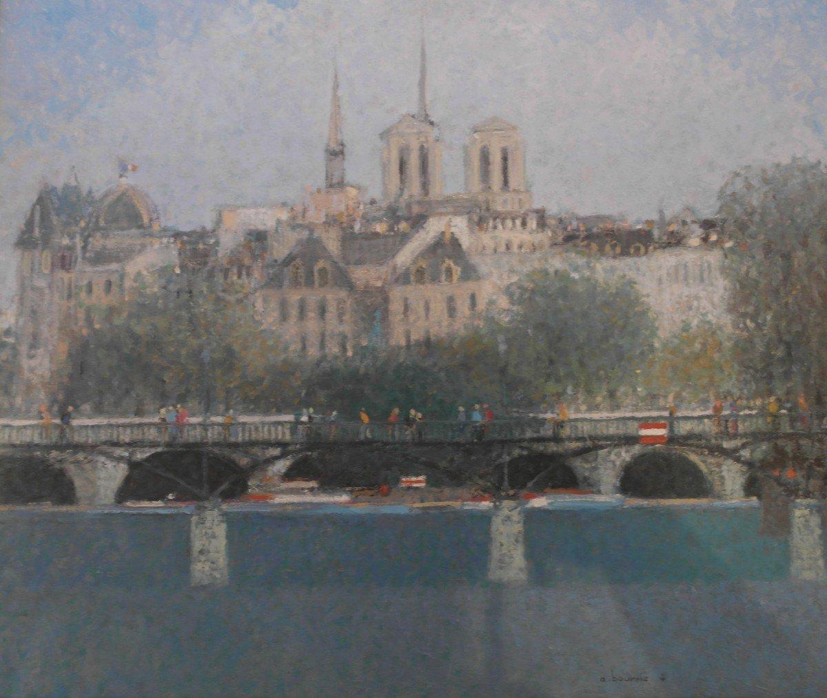 Tableau André Bourrie Ht Sbd V1475