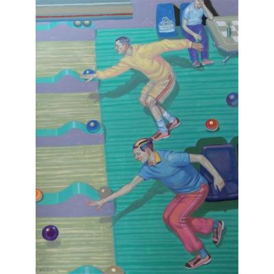Nebojsa Bezanic -acrylic On Canvas - Sbg. V1255